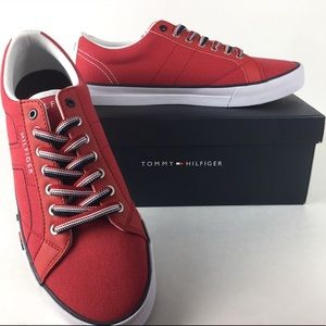 Tommy Hilfiger Red Sneakers